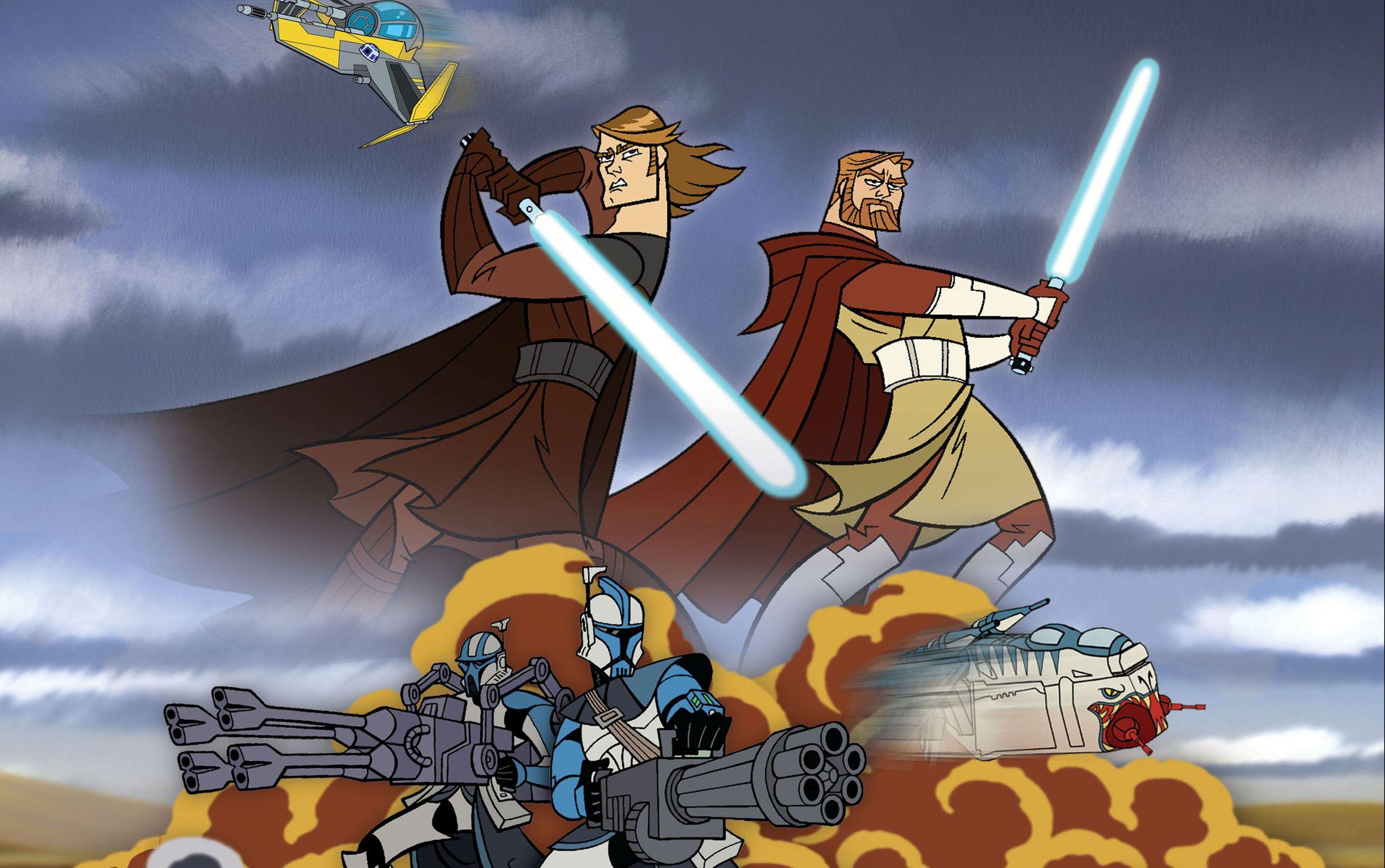 Star Wars The Clone Wars Hd Wallpaper Background Image 2362x1481