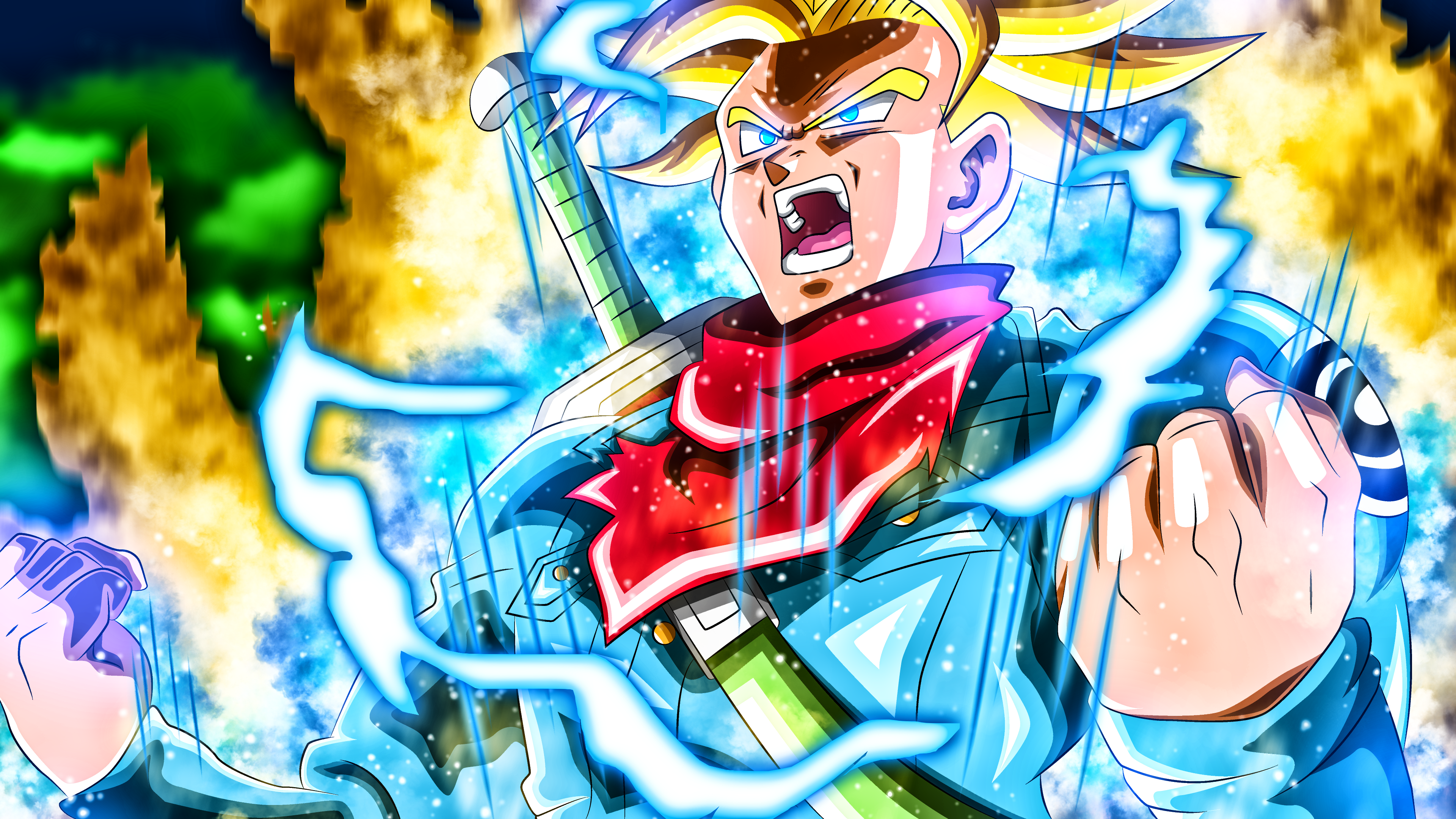 41 4k Ultra Hd Trunks Dragon Ball Wallpapers Background