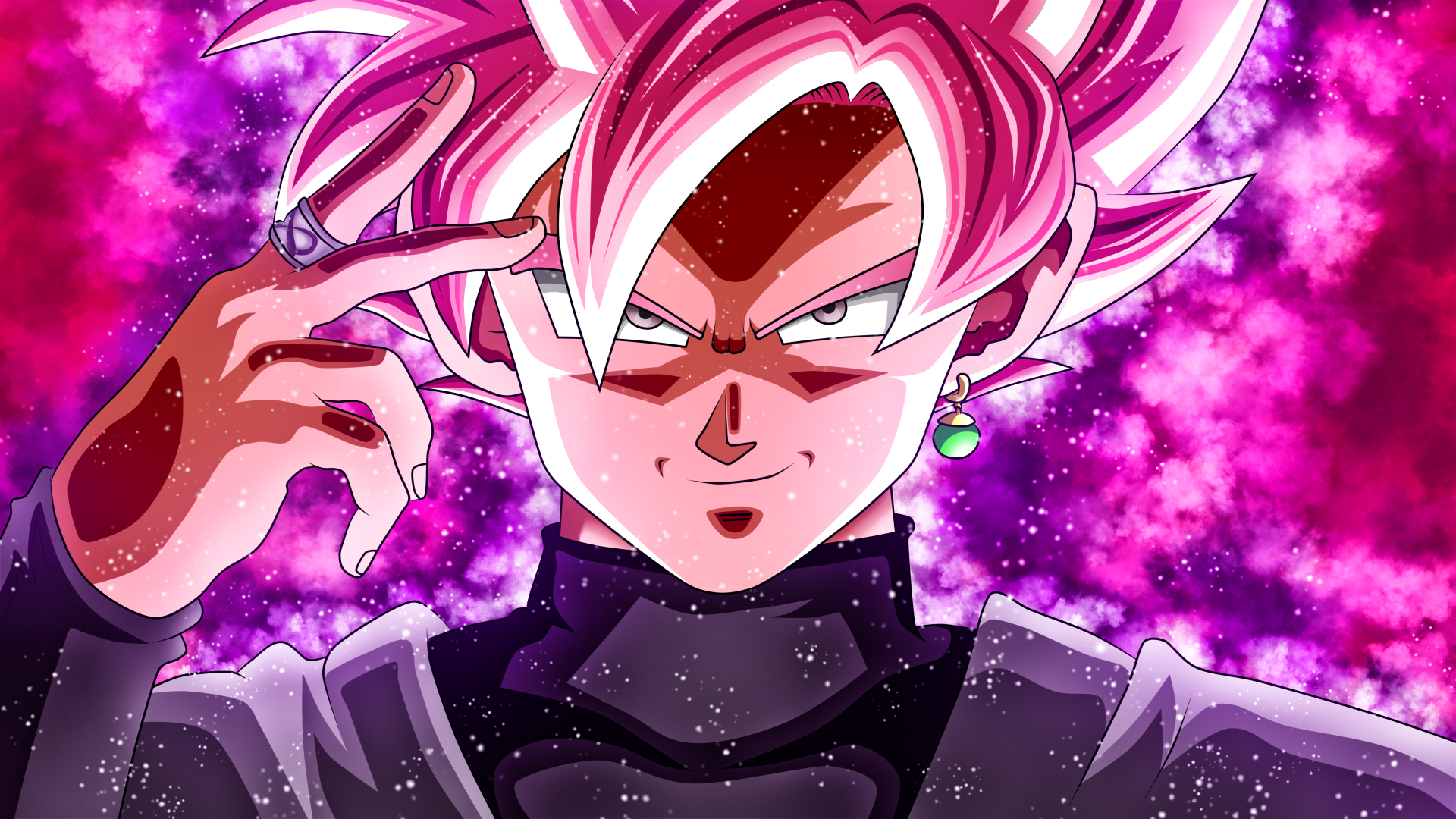 Anime - Dragon Ball Super  Black (Dragon Ball) Black Goku SSR Black Wallpaper