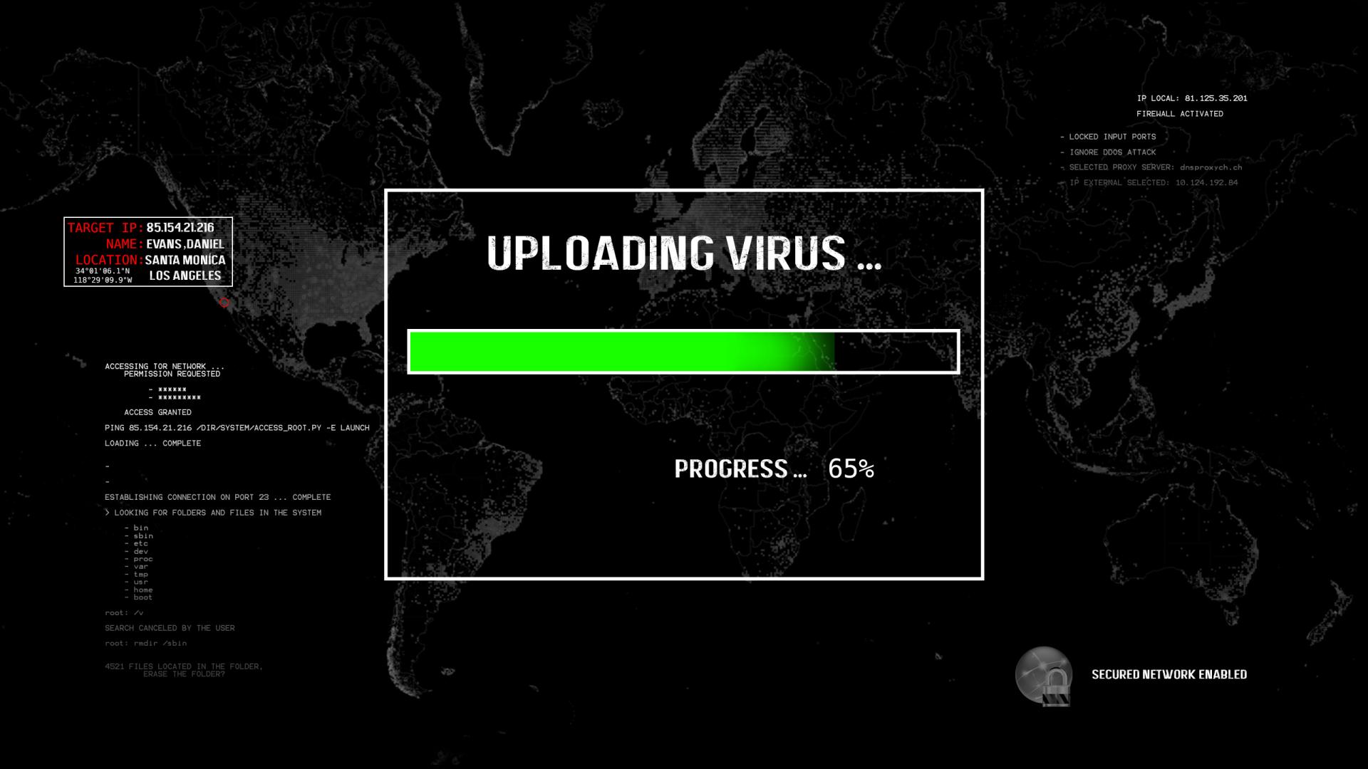 Technology - Hacker  Virus Hacking Wallpaper