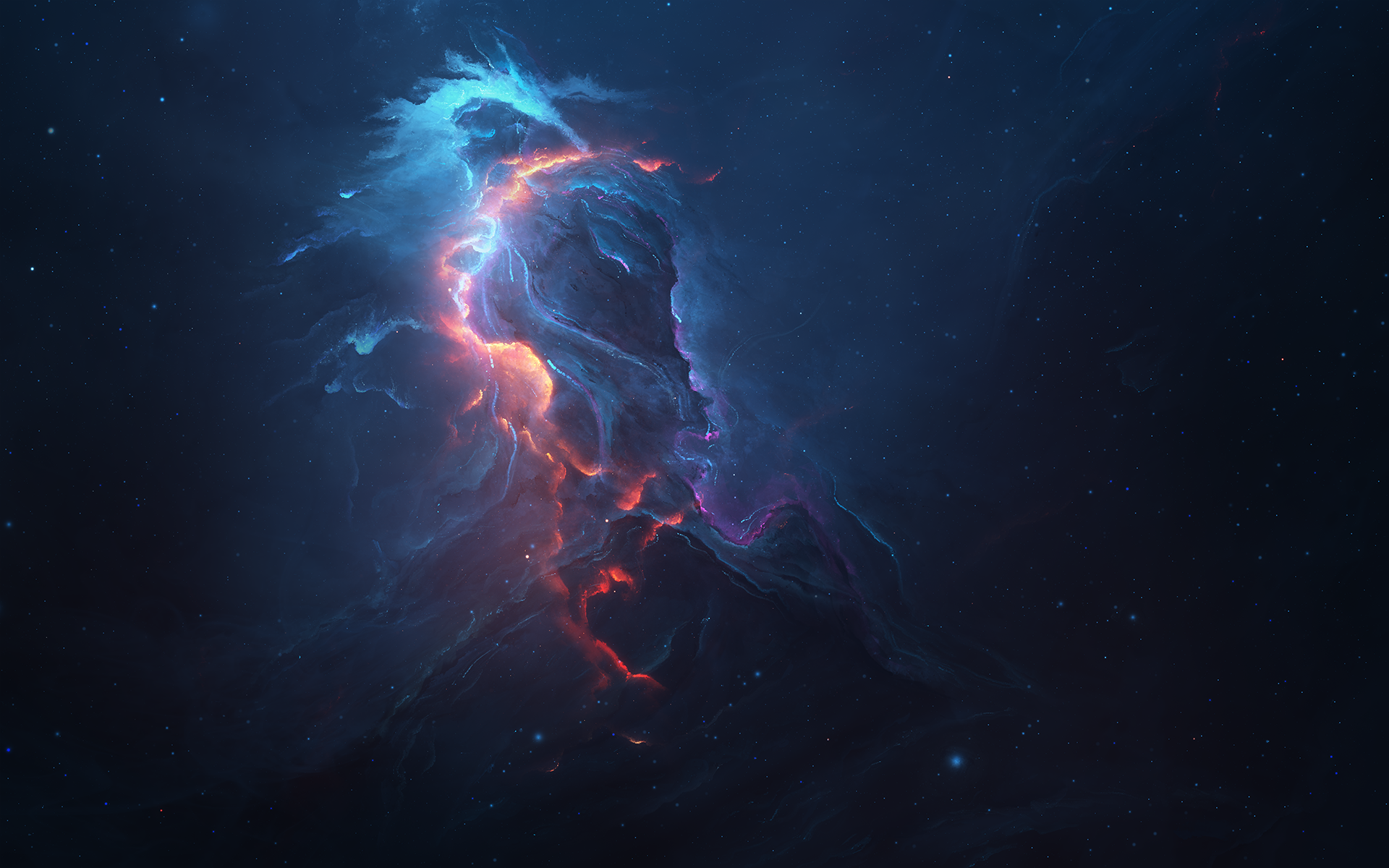 Atlantis on fire full hd wallpaper and background image for Sfondi spazio full hd