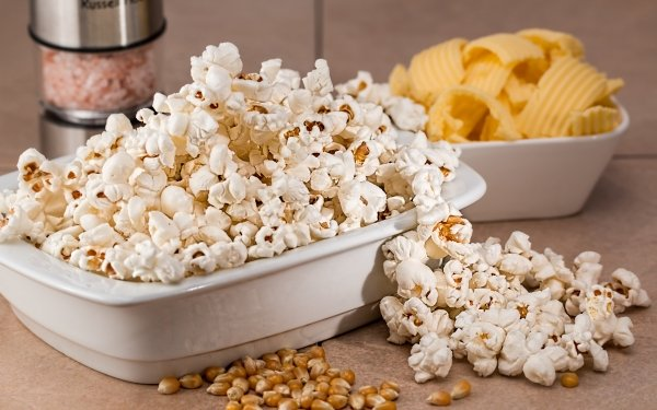 Food Popcorn Sweets HD Wallpaper | Background Image