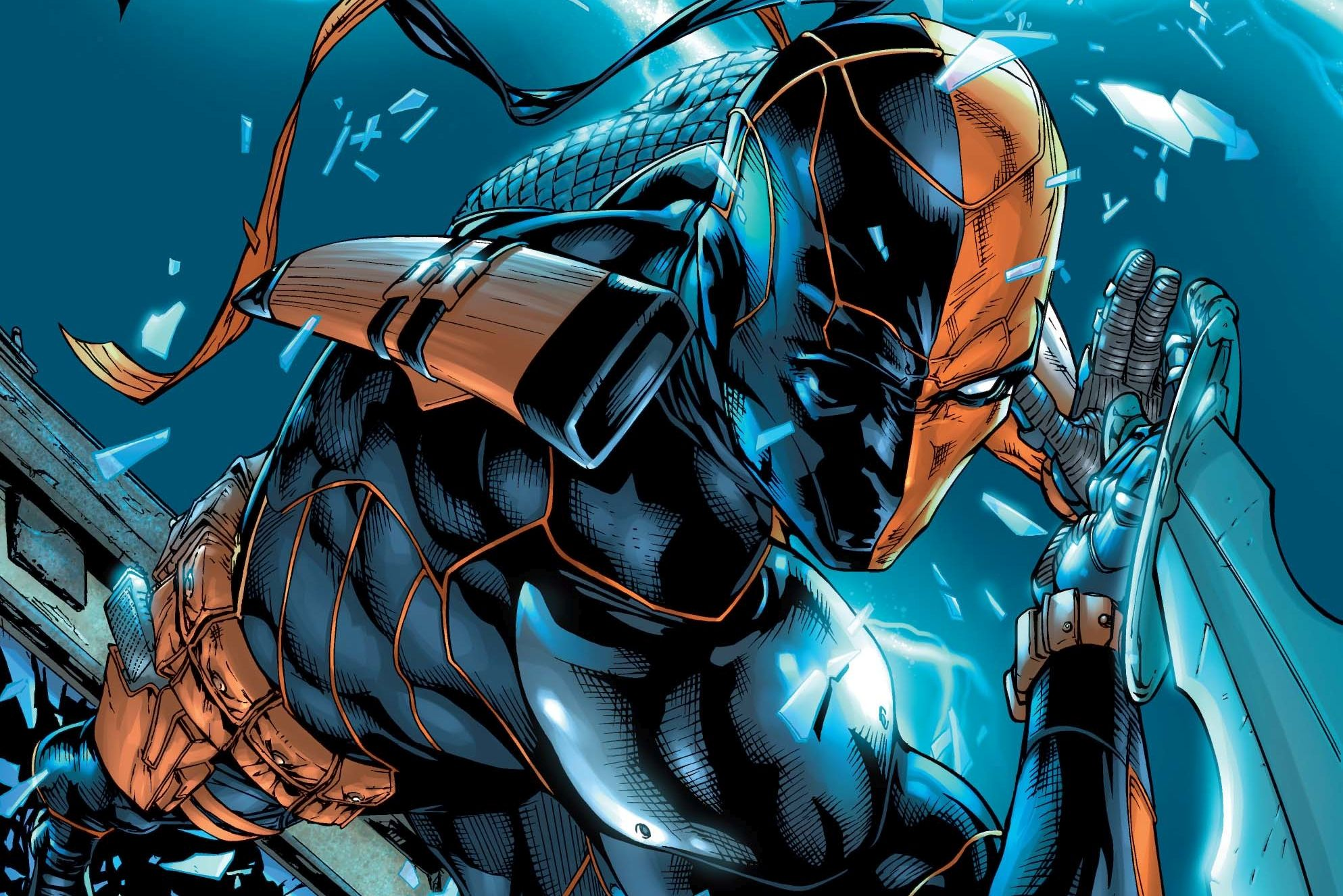 47 Deathstroke Hd Wallpapers Background Images Wallpaper