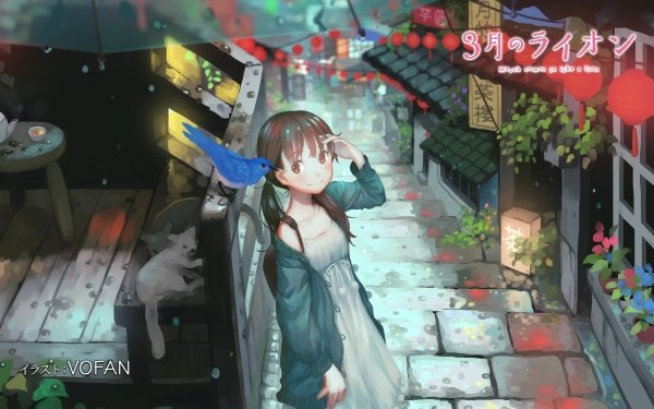 Anime March Comes in Like a Lion HD Wallpaper | Background Image
