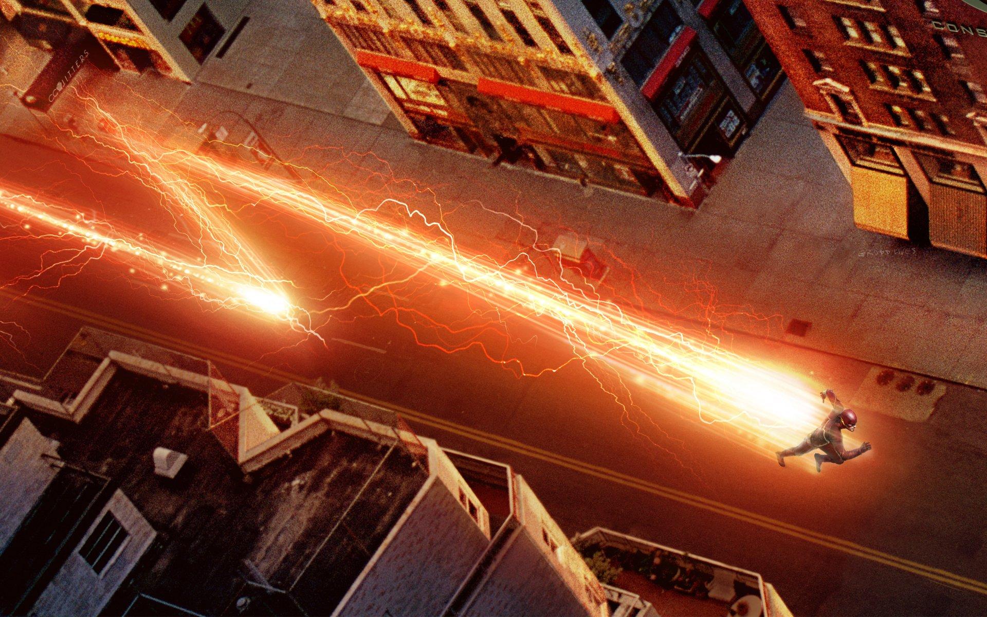 TV Show - The Flash (2014)  Flash Grant Gustin Barry Allen Wallpaper