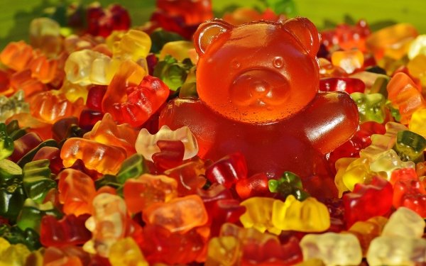 Food Candy Gummy Bear Colorful HD Wallpaper | Background Image