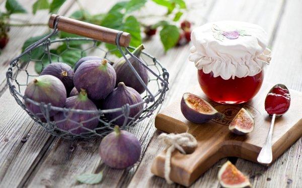 Food Fig Fruits Fruit Still Life Jam HD Wallpaper | Background Image