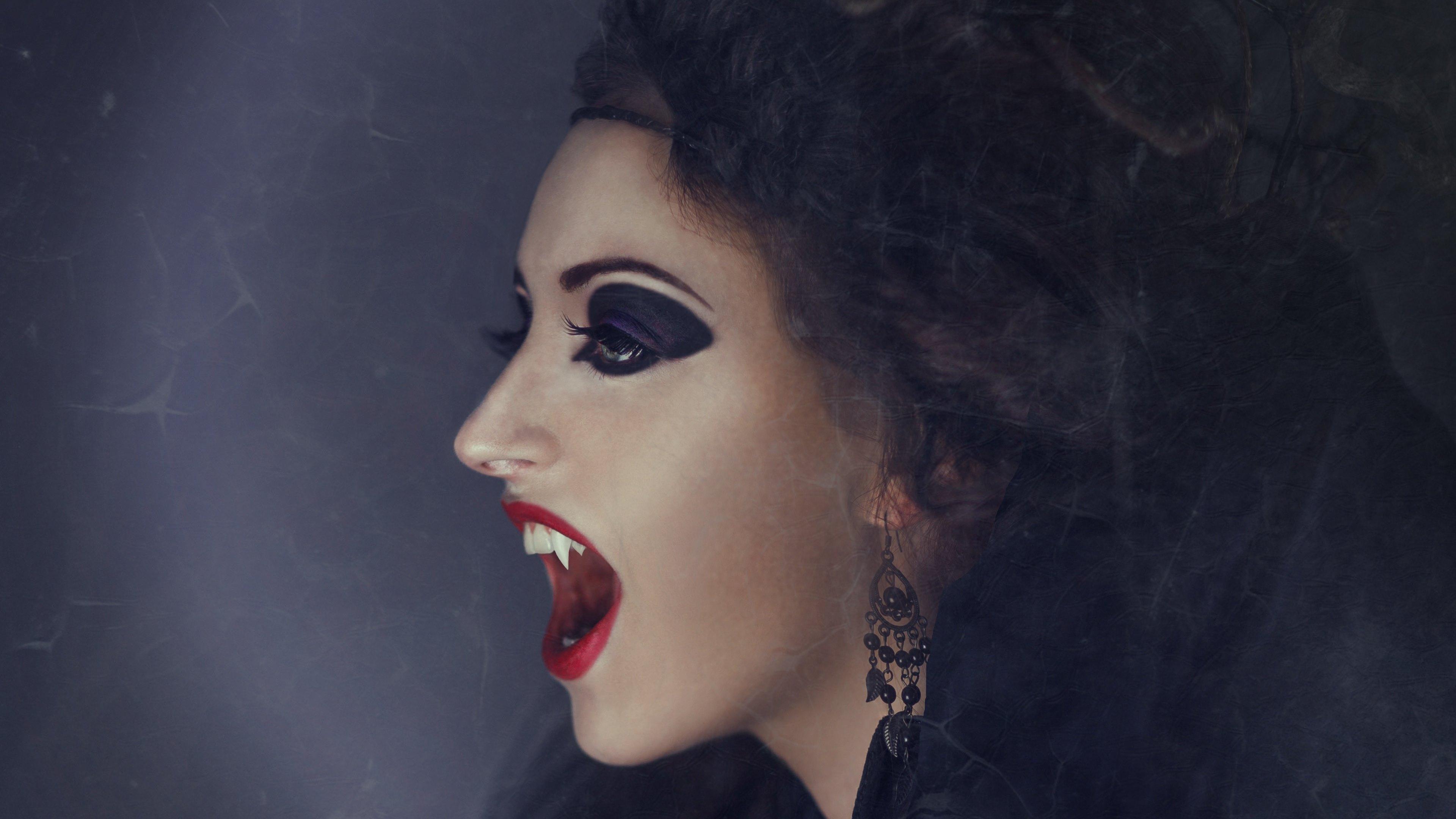Vampire 4k Ultra HD Wallpaper | Background Image ...