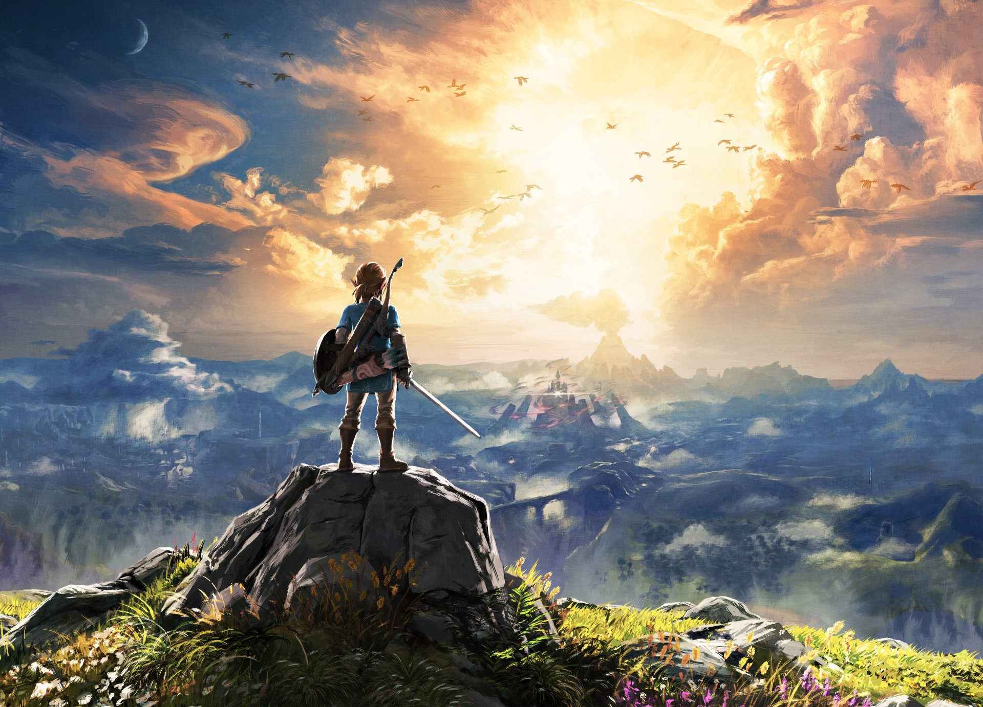 140 the legend of zelda breath of the wild fondos de