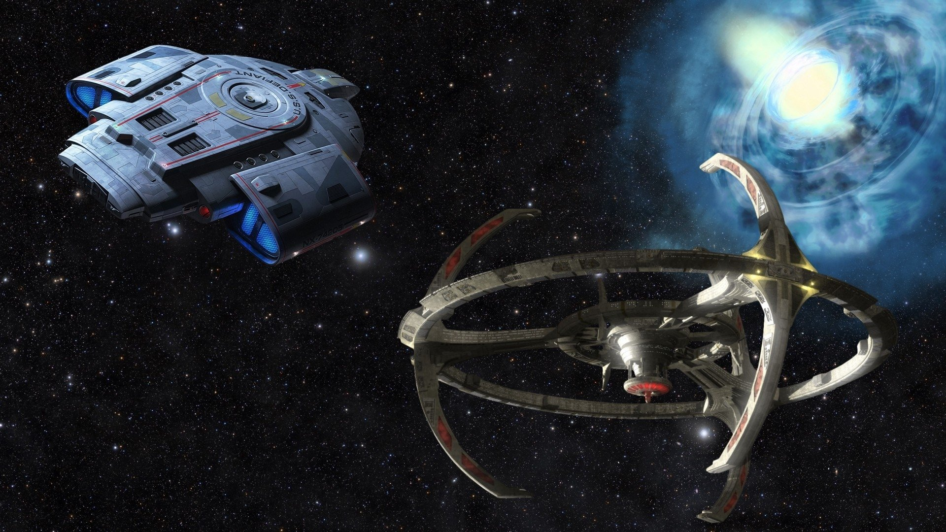 Star Trek USS Defiant · HD Wallpaper | Background Image ID:789953