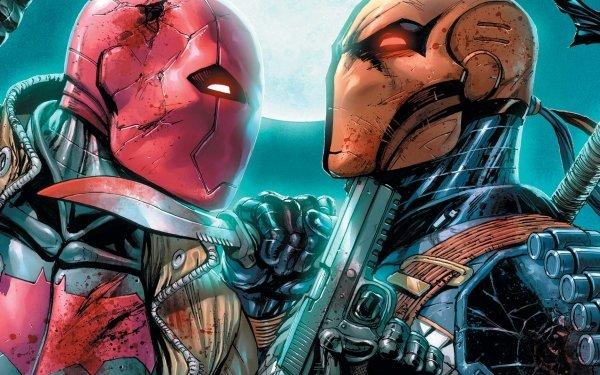 Comics Deathstroke Red Hood Jason Todd Slade Wilson HD Wallpaper | Background Image