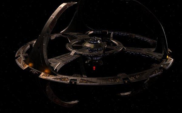 TV Show Star Trek: Deep Space Nine Star Trek Space Station HD Wallpaper | Background Image