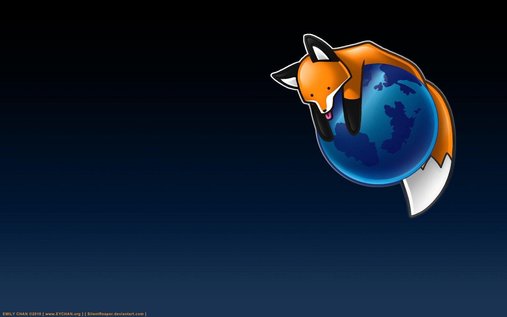 Technologie - Firefox  Fond d'écran