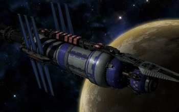 Preview TV Show - Babylon 5: The River Of Souls Art