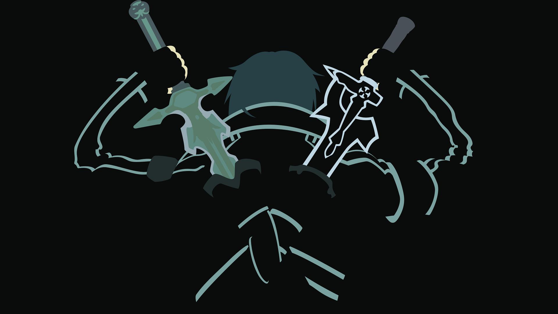 Sword art online hd wallpaper background image for Minimal art online