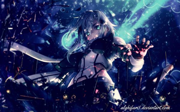 Anime Sword Art Online II Sword Art Online Sinon Shino Asada HD Wallpaper   Background Image