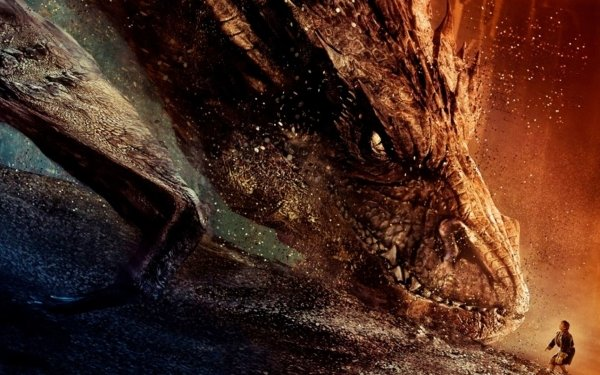 Movie The Hobbit: The Desolation of Smaug Dragon HD Wallpaper   Background Image