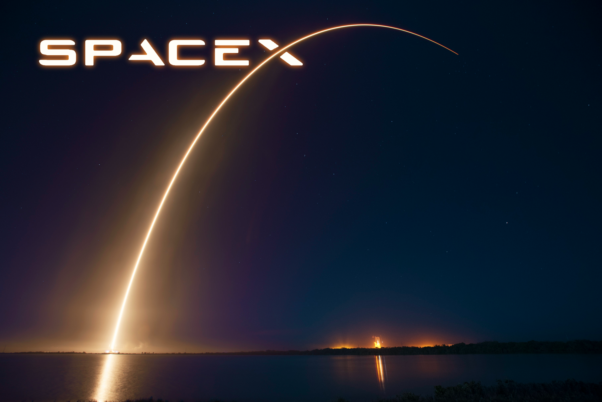 Technology - SpaceX  Falcon 9 Rocket Wallpaper
