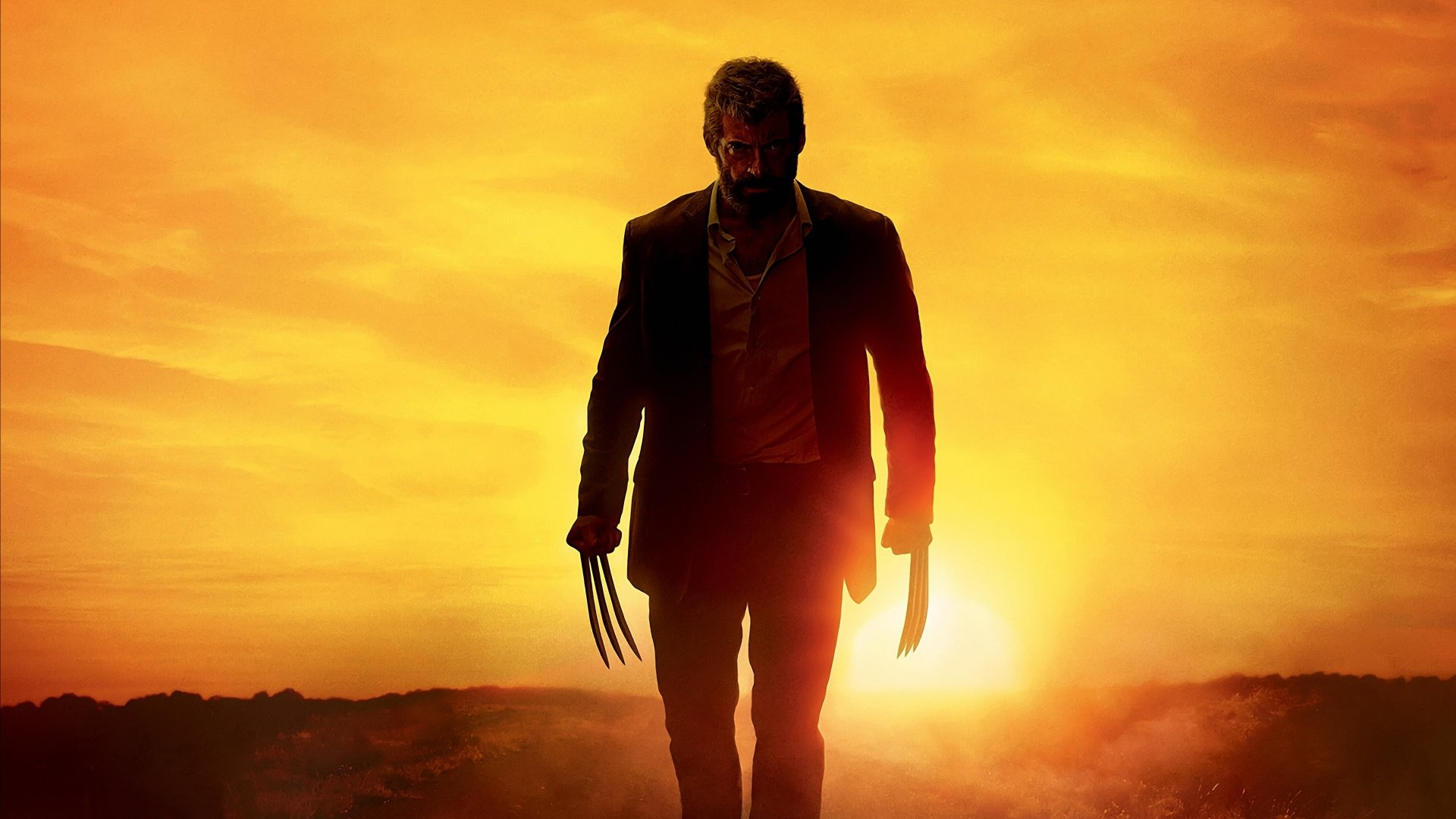 Movie - Logan  Logan (Movie) Wolverine Hugh Jackman Wallpaper