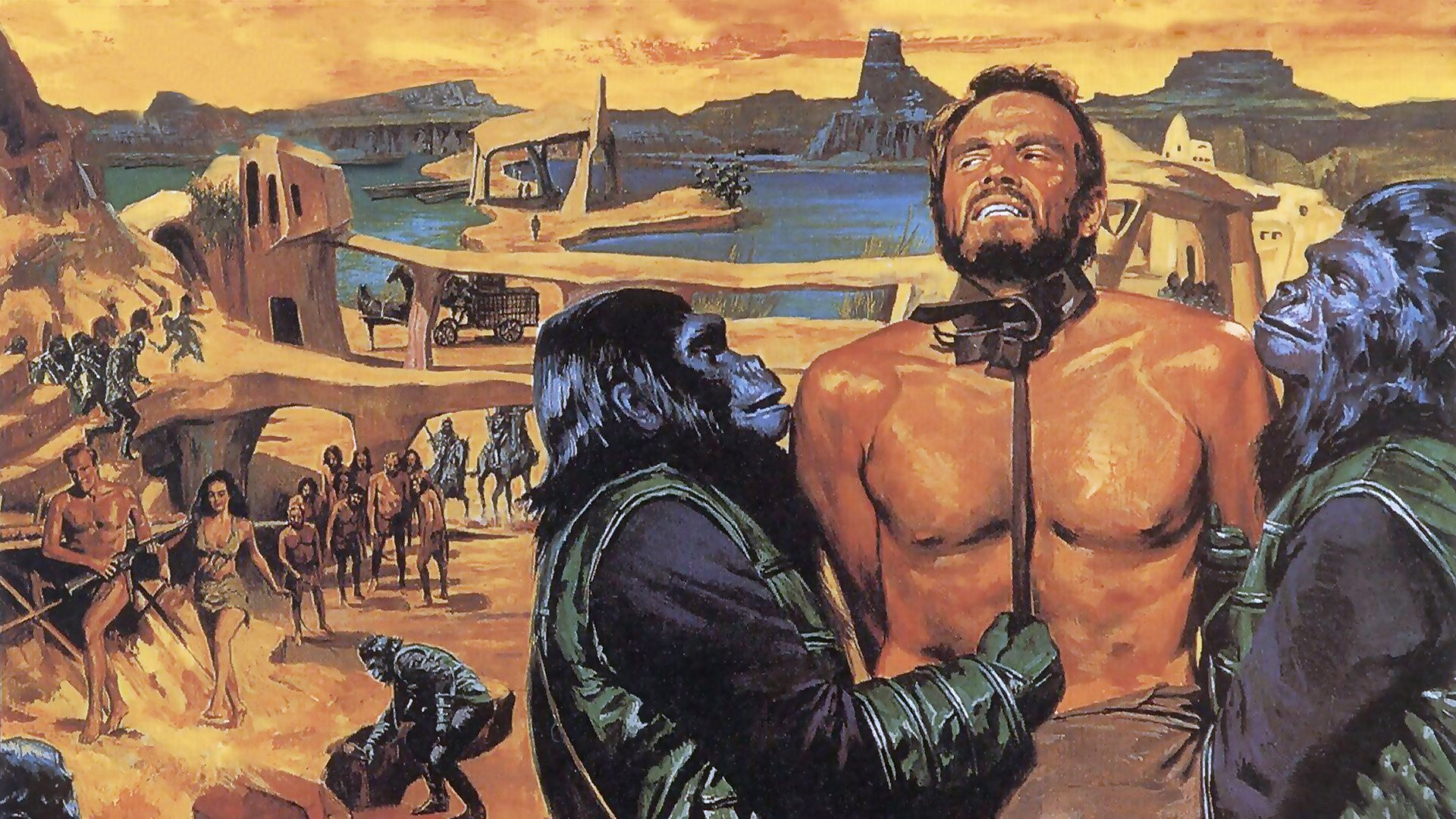 Planet Of The Apes 1968 Hd Wallpaper Background Image