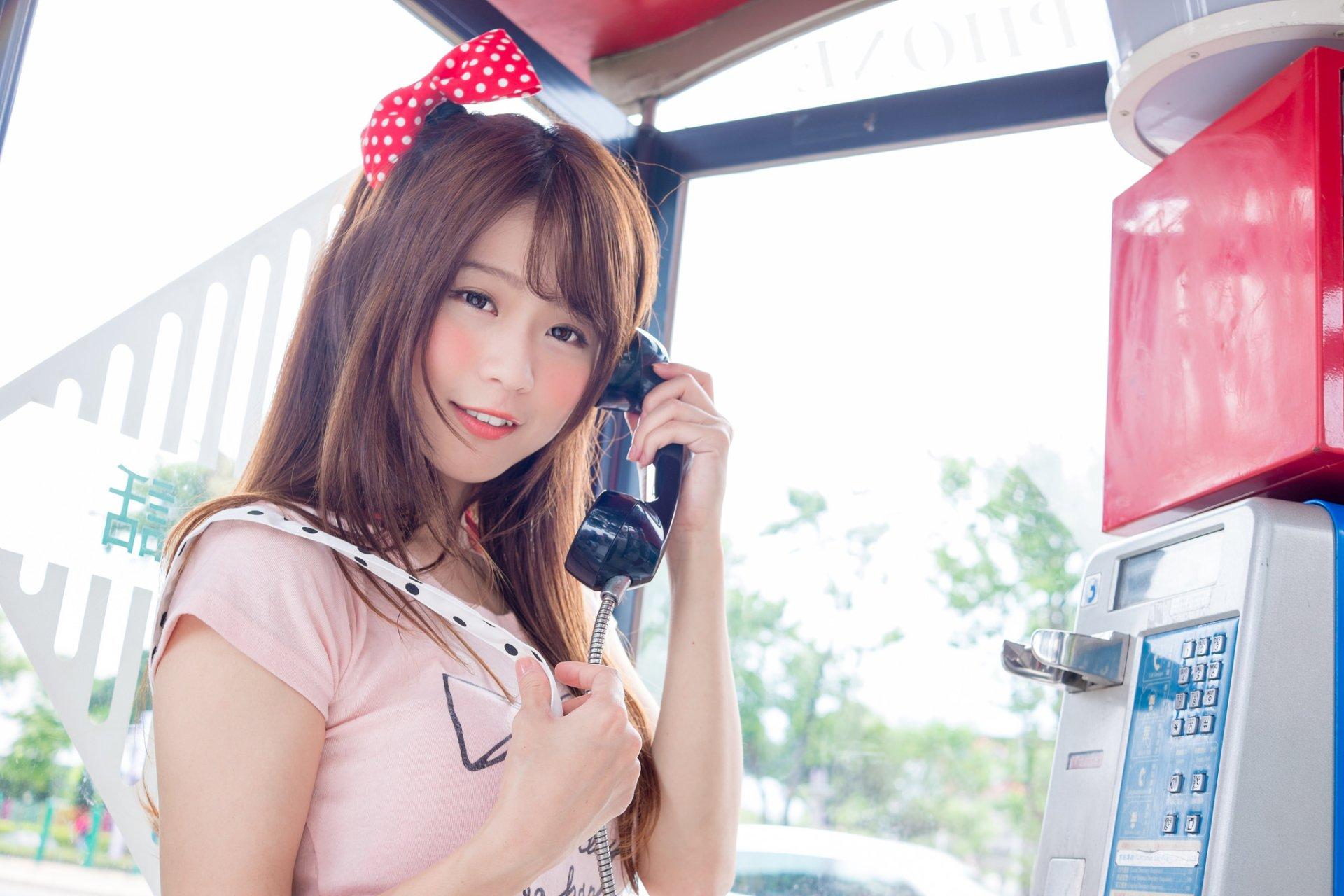 Women - Asian  Woman Girl Model Brunette Brown Eyes Smile Wallpaper