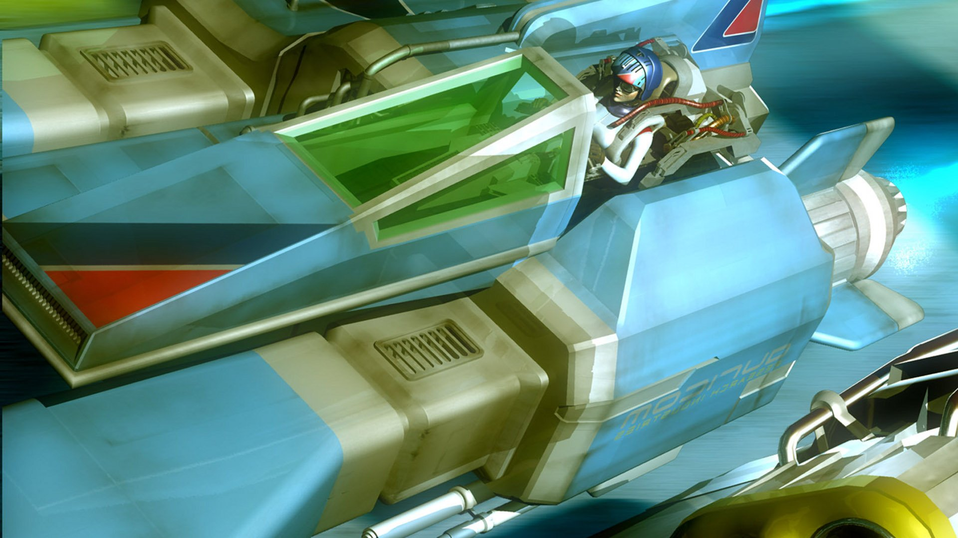 Video Game - Wipeout Fusion  Wallpaper