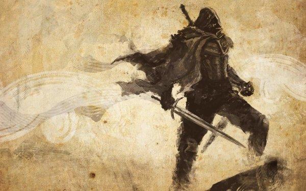 Video Game Joe Dever's Lone Wolf HD Remastered Sword Warrior Cloak Concept Art HD Wallpaper | Background Image