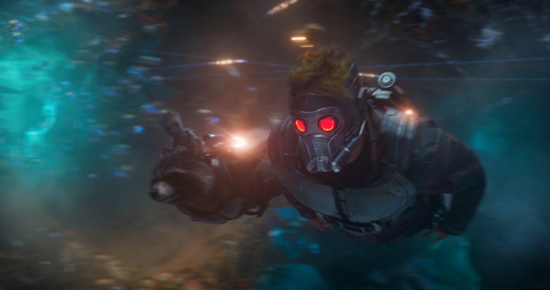 Movie - Guardians of the Galaxy Vol. 2  Star Lord Peter Quill Chris Pratt Wallpaper