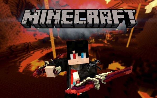 Videojuego Minecraft Nether Fondo de pantalla HD | Fondo de Escritorio