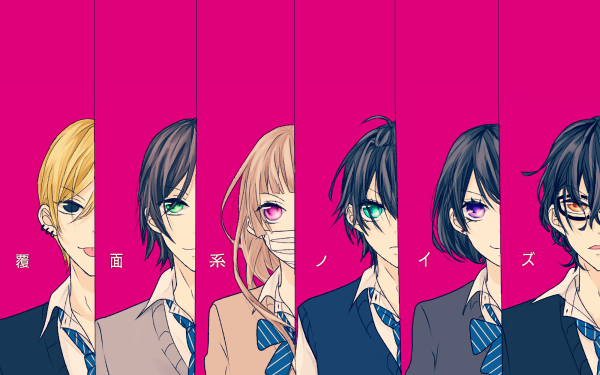 Anime Fukumenkei Noise Nino Arisugawa Momo Sakaki Miou Suguri Yoshito Haruno Ayumi Kurose Kanade Yuzuriha HD Wallpaper | Background Image