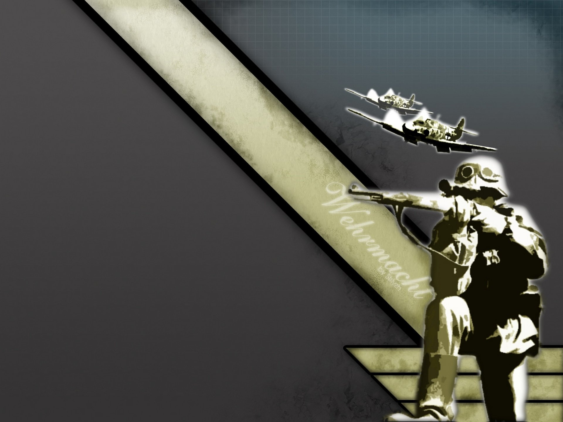 Military - Artistic  Wallpaper