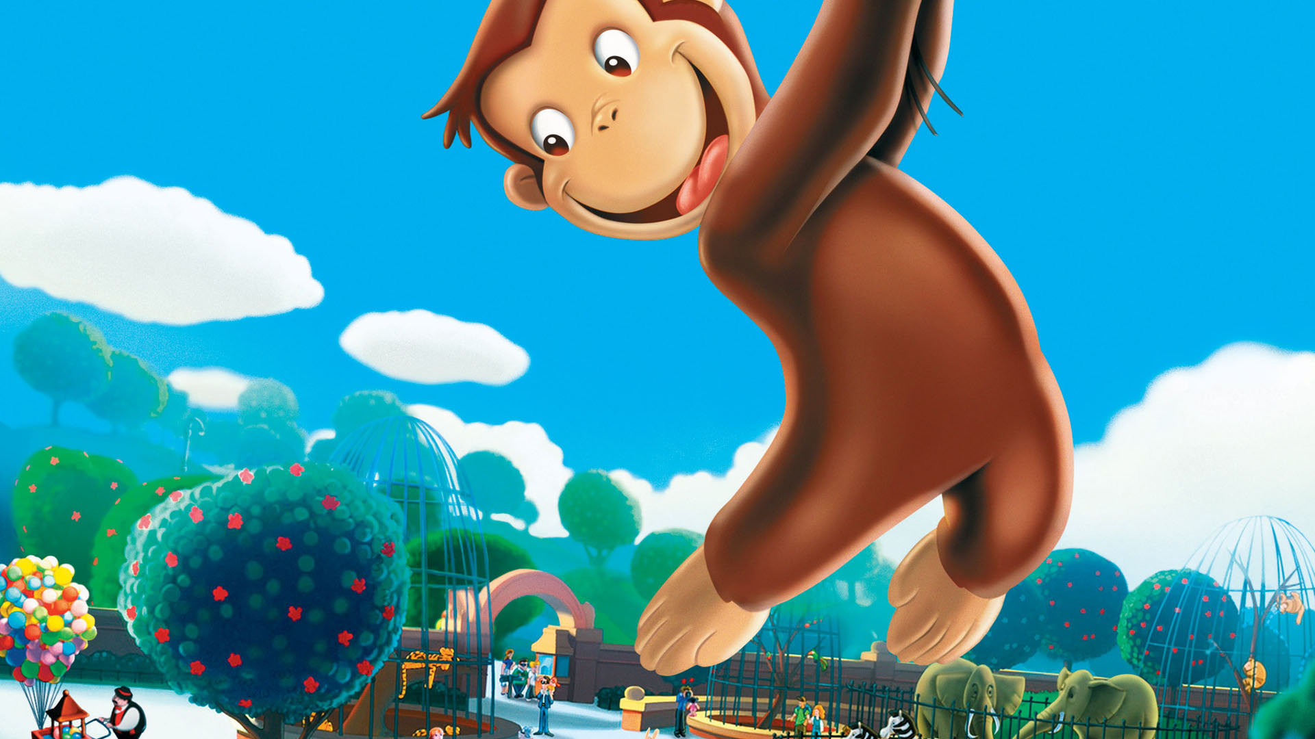 Curious George Hd Wallpaper Background Image 1920x1080 Id 800973 Wallpaper Abyss