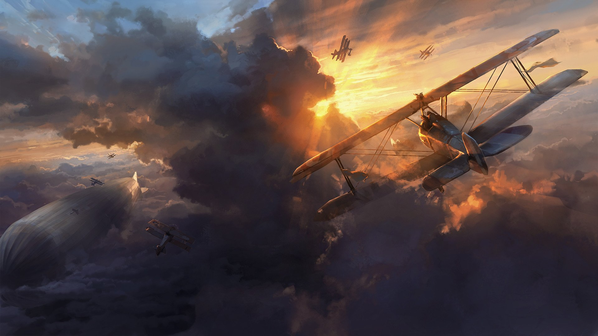 Fabuleux 346 Battlefield 1 HD Wallpapers | Background Images - Wallpaper Abyss ME69