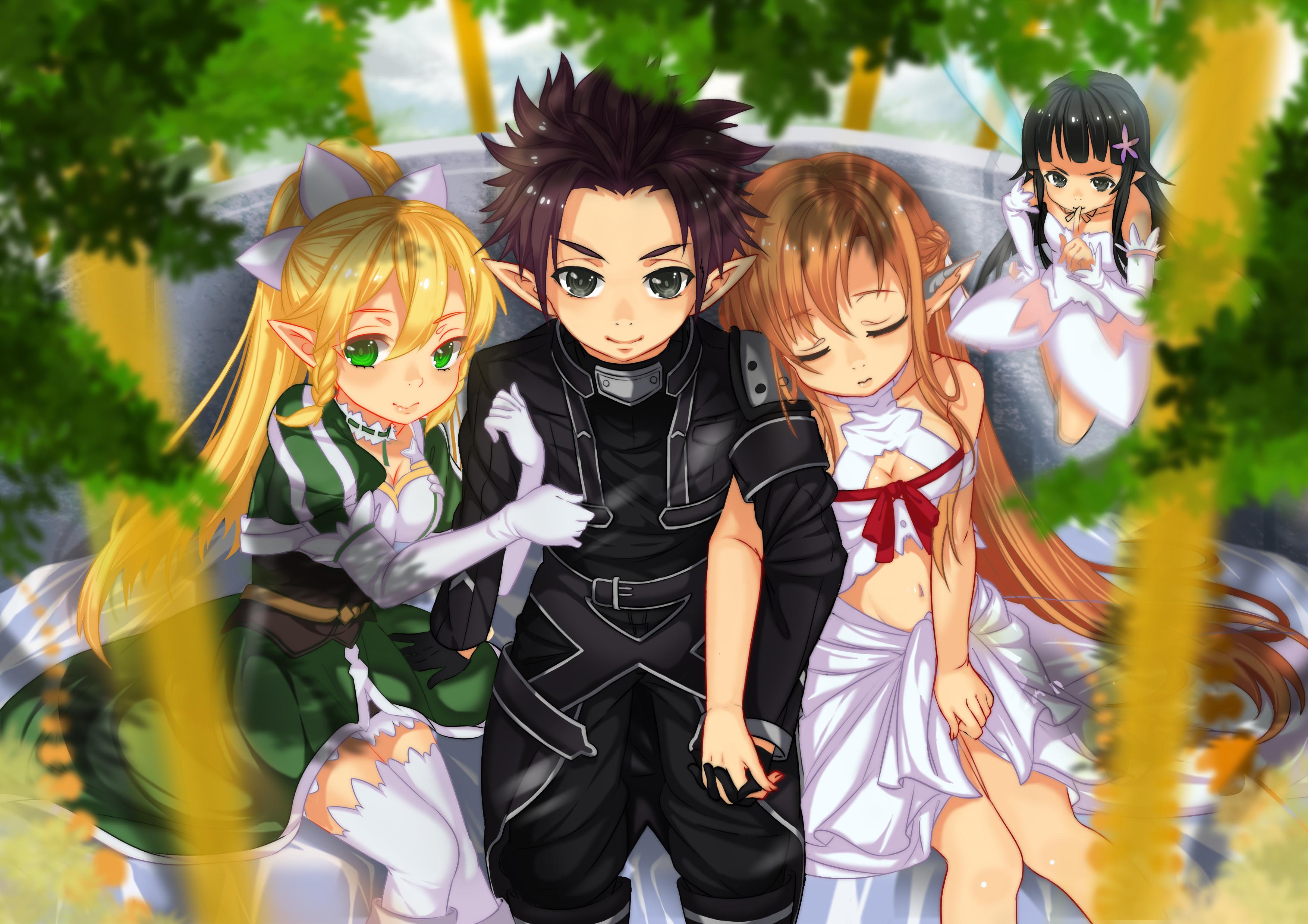 Sword Art Online Hd Wallpaper Background Image 3508x2480 Id