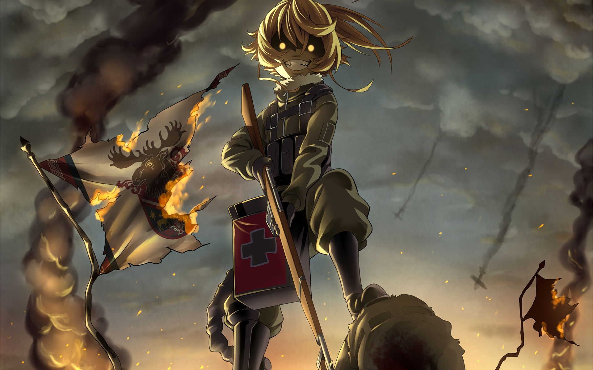 265 Youjo Senki Hd Wallpapers Background Images Wallpaper Abyss