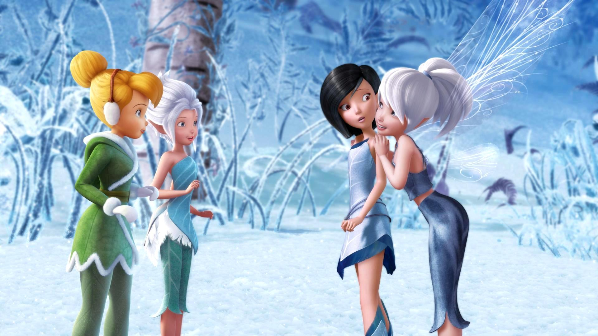 Tinkerbell And The Mysterious Winter Woods Full HD Wallpaper