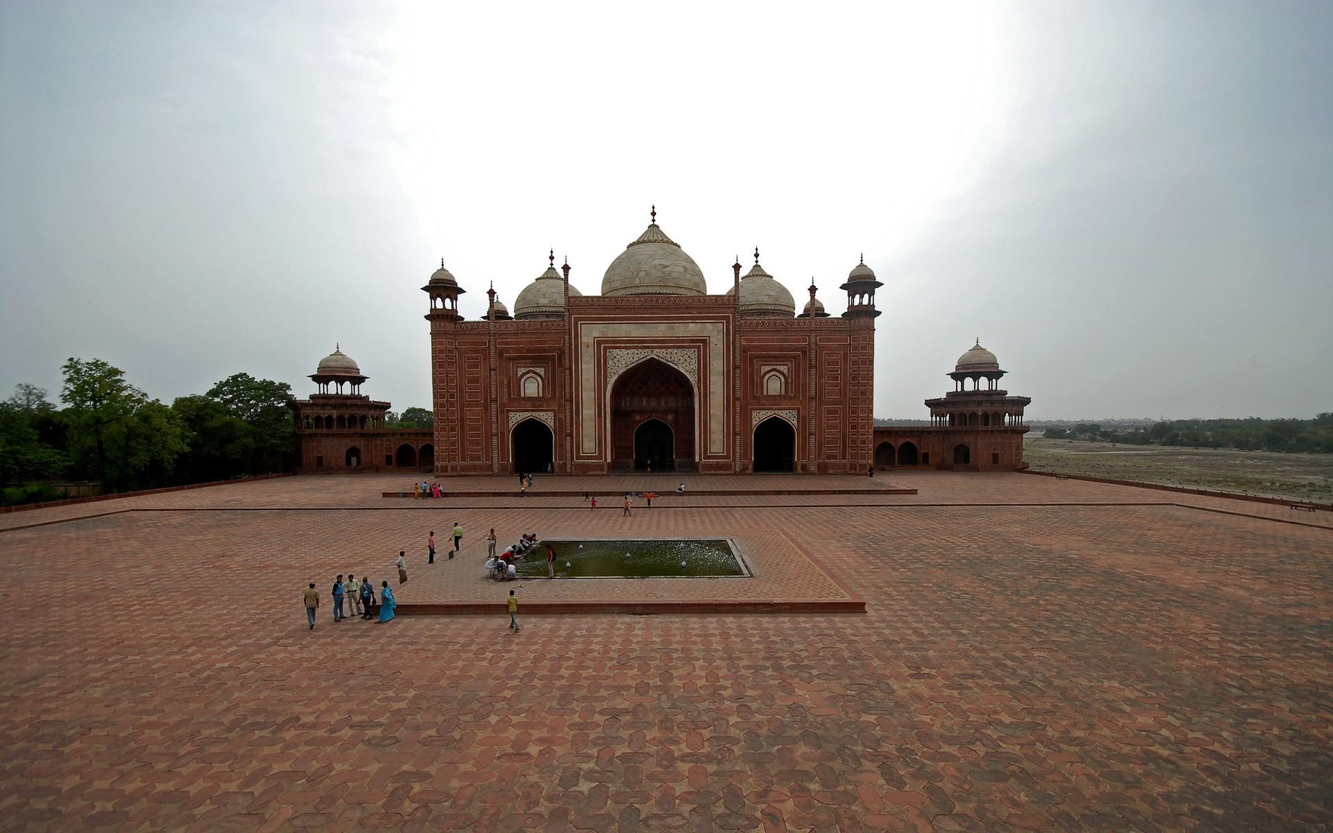Religioso - Buddhism  - Fotografía - Paisaje - India - Temple - Red Taj - Tourist - Taimahal Fondo de Pantalla