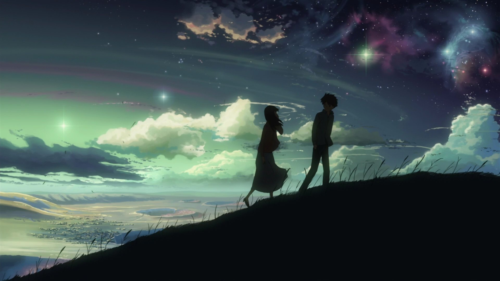 Hd wallpaper background image id804298 1920x1080 anime 5 centimeters per second