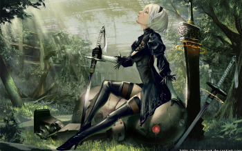247 Nier Automata Hd Wallpapers Background Images Wallpaper Abyss