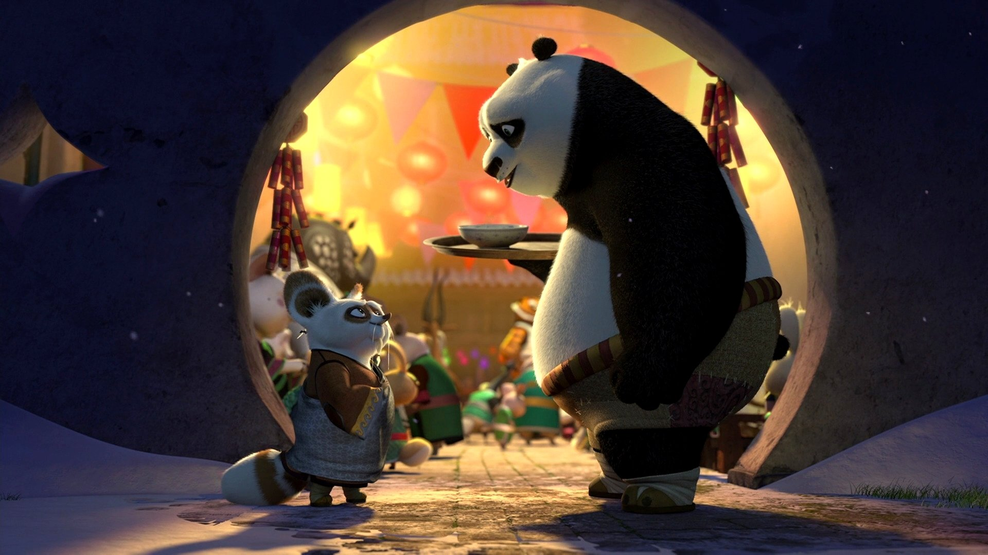 2 Kung Fu Panda Holiday Hd Wallpapers Background Images