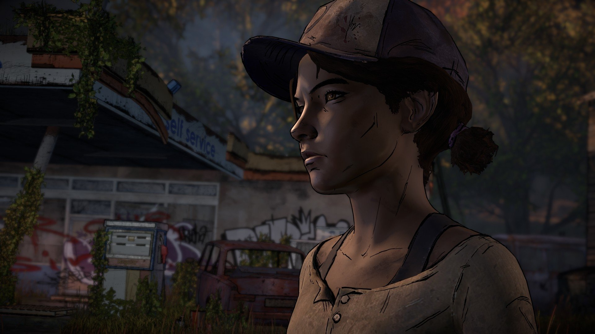 58 Clementine The Walking Dead Hd Wallpapers Background