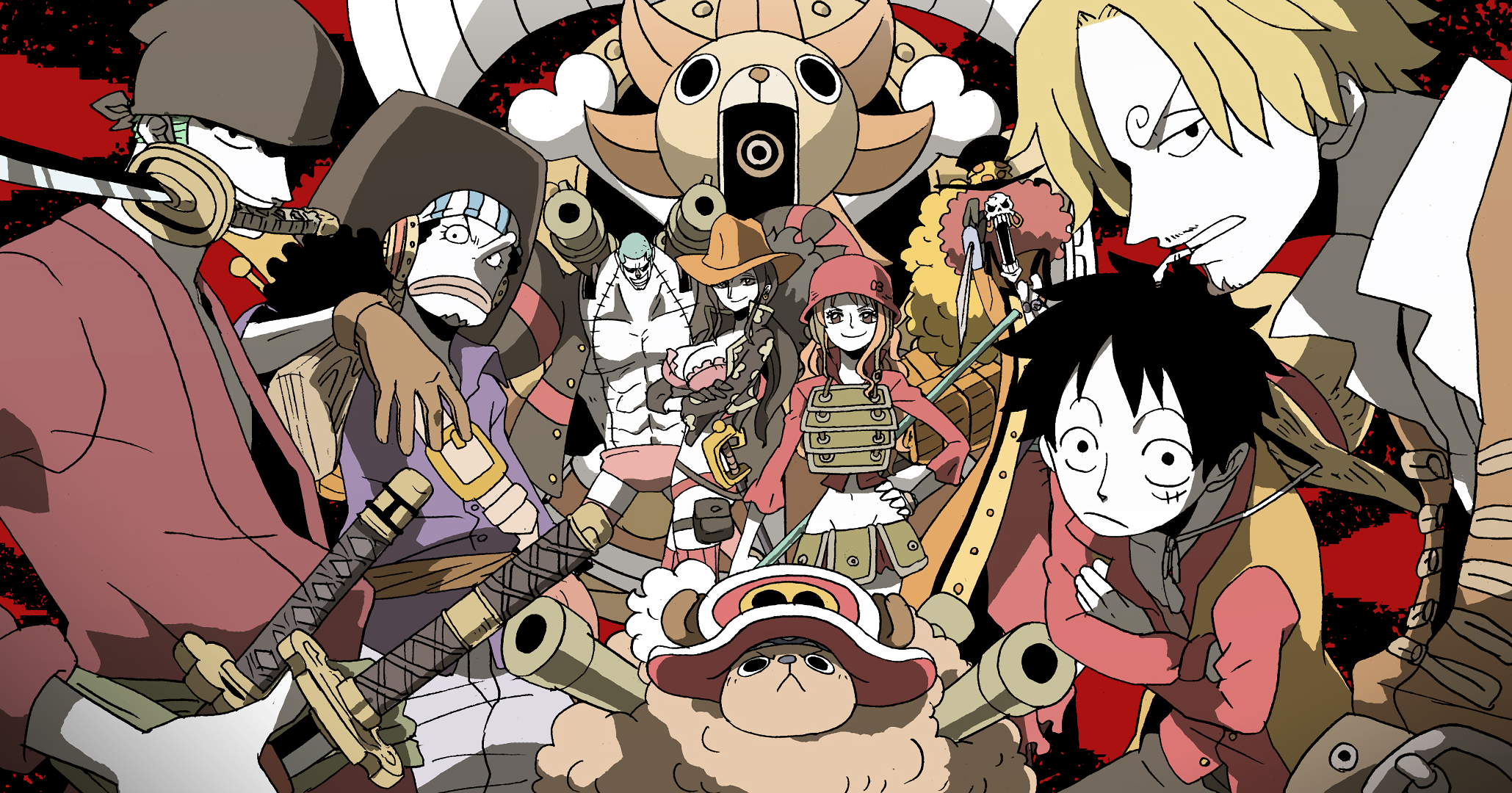 One Piece Hd Wallpaper Background Image 2059x1080 Id 807002 Wallpaper Abyss