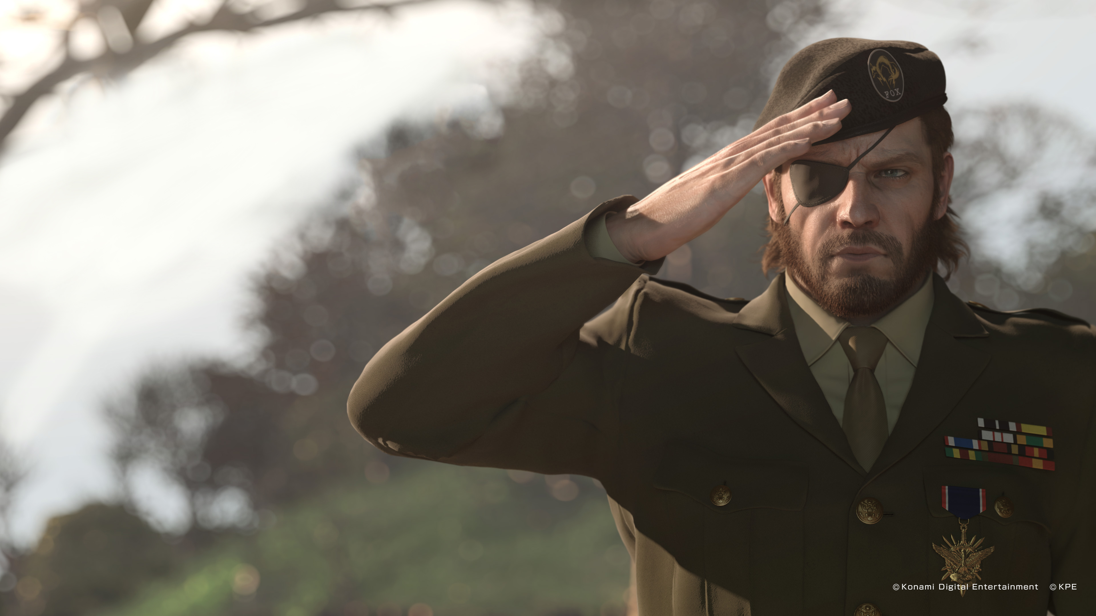 Big Boss In Military Dress 4k Ultra Fondo De Pantalla Hd