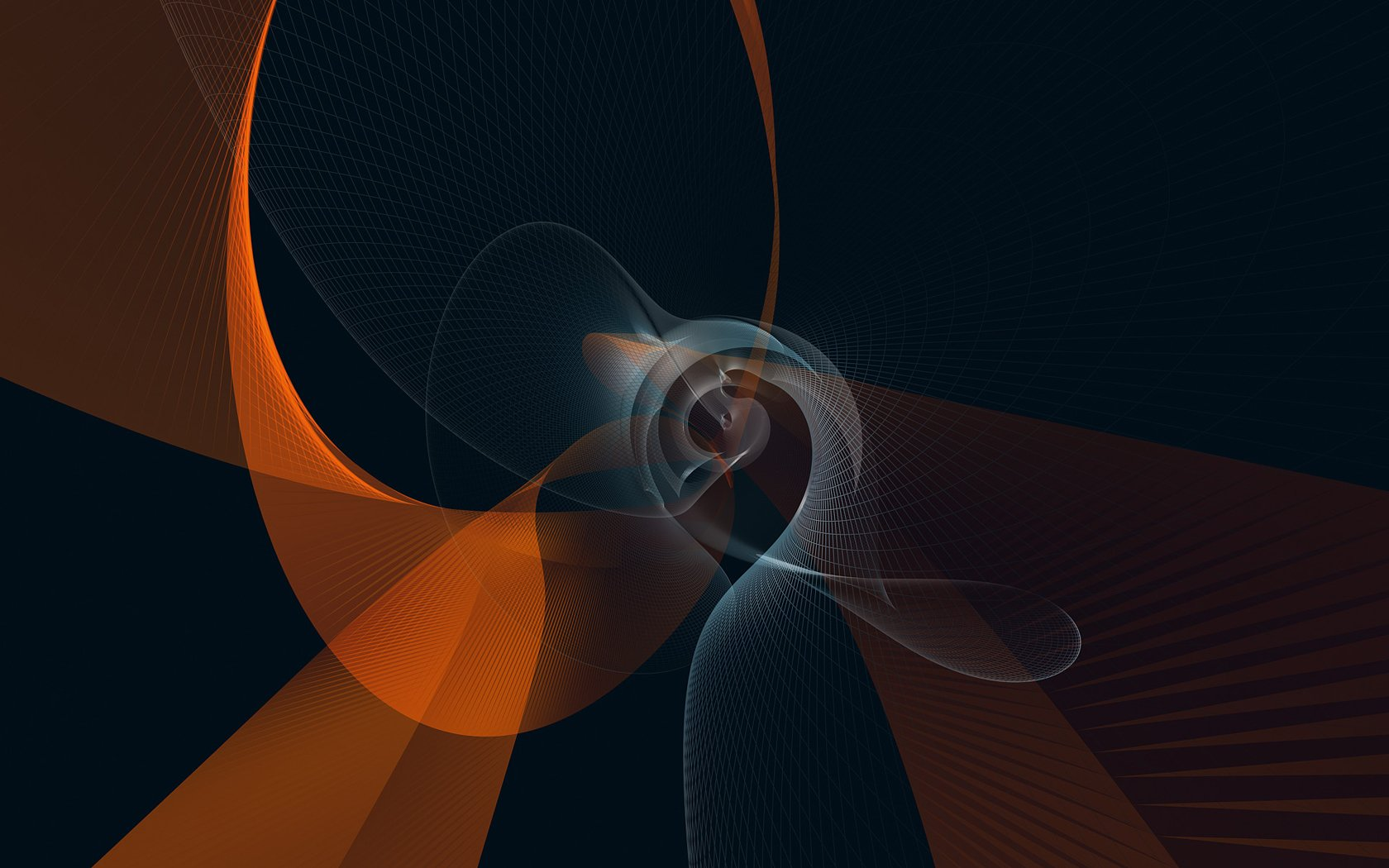 Abstract - Blue  Abstract Alien Landscape Pattern Shapes Colors Texture Apophysis Fractal CGI Artistic Fantasy Sci Fi Space Wallpaper