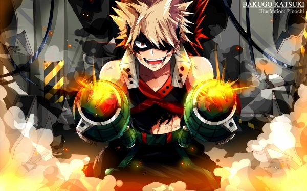 Anime My Hero Academia Katsuki Bakugou HD Wallpaper   Background Image