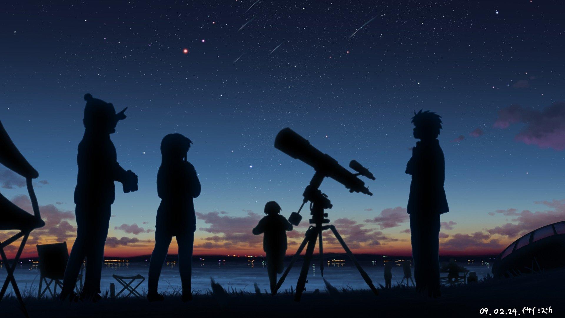 动漫 - 原创  Telescope 壁纸