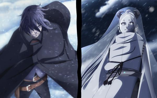 Anime Boruto Naruto Sasuke Uchiha Momoshiki Ōtsutsuki HD Wallpaper | Background Image
