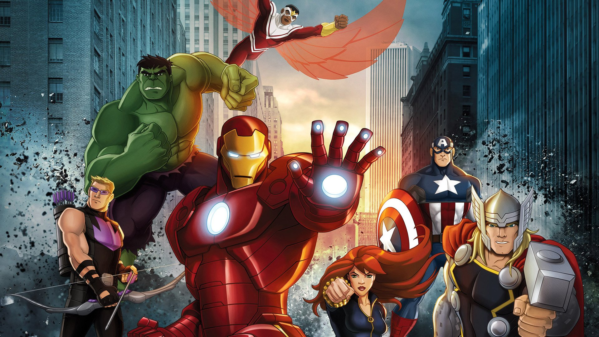 2 Marvel S Avengers Assemble Hd Wallpapers Background Images
