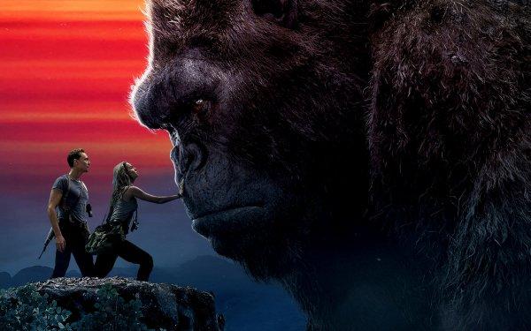 Películas Kong: La Isla Calavera Brie Larson Tom Hiddleston King Kong Fondo de pantalla HD | Fondo de Escritorio