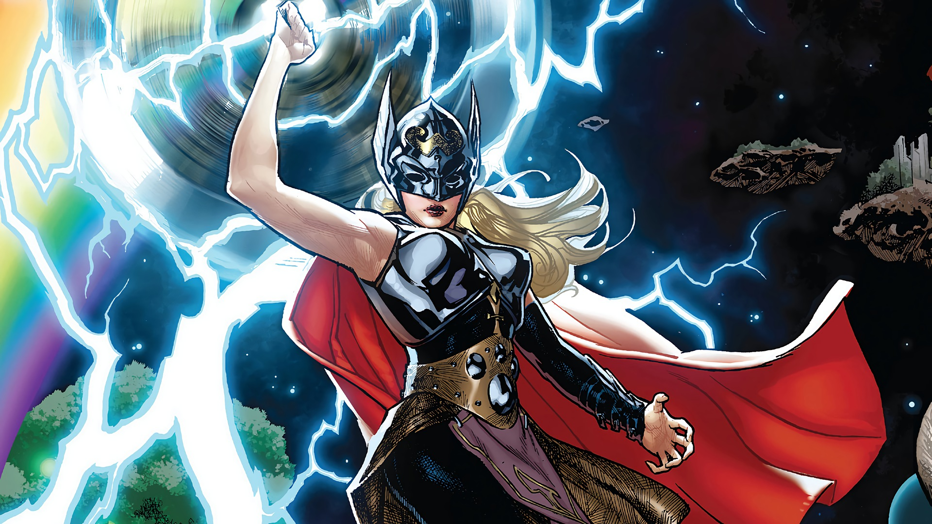 thor jane foster full hd wallpaper and background